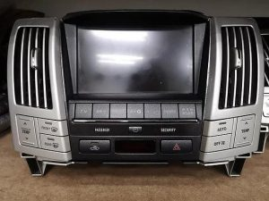 TOYOTA HARRIER TV MONITOR